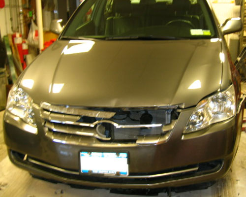 Toyota Avalon before & after